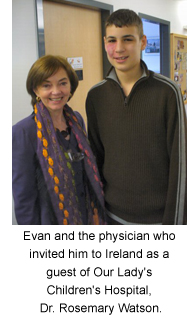 Evan and Dr. Rosemary Watson
