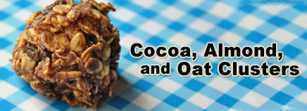 Cocoa, Almond, and Oat Clusters