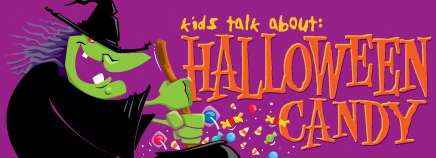 Kids Talk About: Halloween Candy