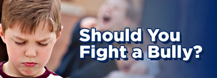 Should You Fight a Bully?