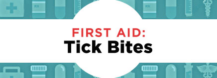First Aid: Tick Bites