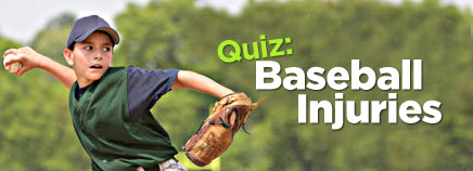 Quiz: Baseball Injuries