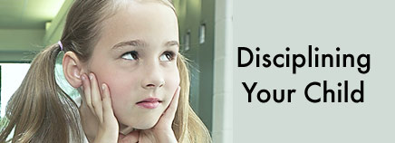Disciplining Your Child
