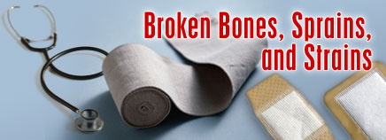 Broken Bones, Sprains, and Strains