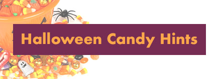 Halloween Candy Hints