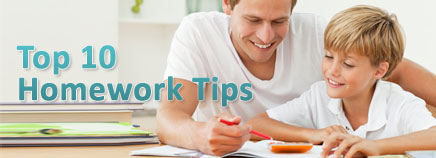 Top 10 Homework Tips