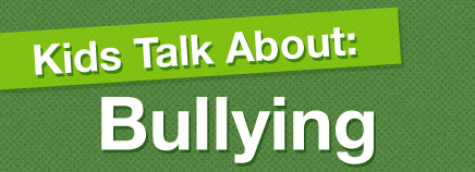 Kids Talk About Bullying (video)