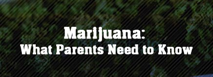 Marijuana: What Parents Need to Know