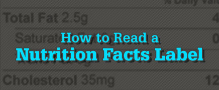 How to Read a Nutrition Facts Label (Video)