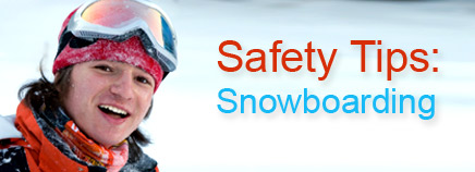 Safety Tips: Snowboarding