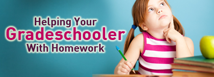 Helping Your Gradeschooler With Homework