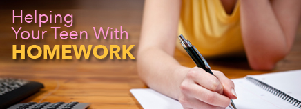 Helping Your Teen With Homework