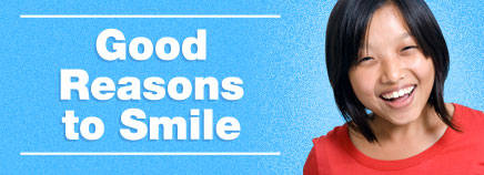 Good Reasons to Smile