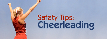 Safety Tips: Cheerleading