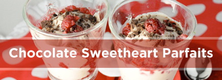 Chocolate Sweetheart Parfaits