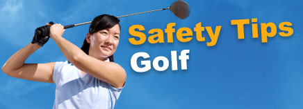 Safety Tips: Golf
