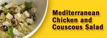 Mediterranean Chicken and Couscous Salad