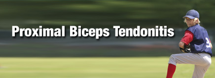 Proximal Biceps Tendonitis