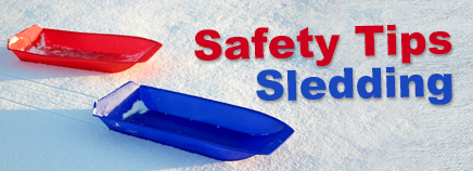 Safety Tips: Sledding