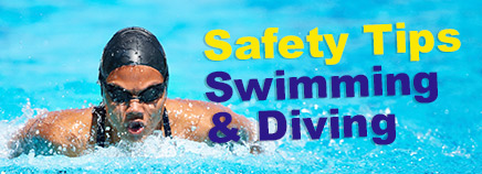 Safety Tips: Swimming and Diving
