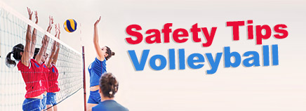 Safety Tips: Volleyball
