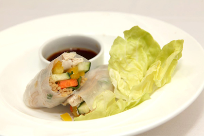 spring roll photo