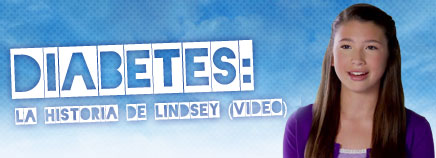 Diabetes: La historia de Lindsey (video)