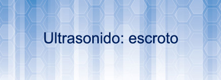 Ultrasonido: escroto