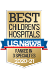 U.S. News Best Children's Hospitals 2020-2021
